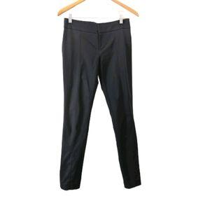 Club Monaco black stretchy skinny leg trousers
